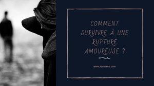 Survivre à une rupture amoureuse